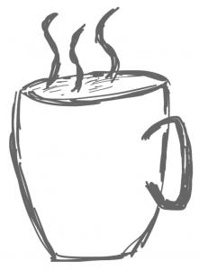 Leckeren Cappuccino gibt es im #projektraum42.