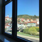 Blick aus dem #projektraum42 auf Horb am Neckar.