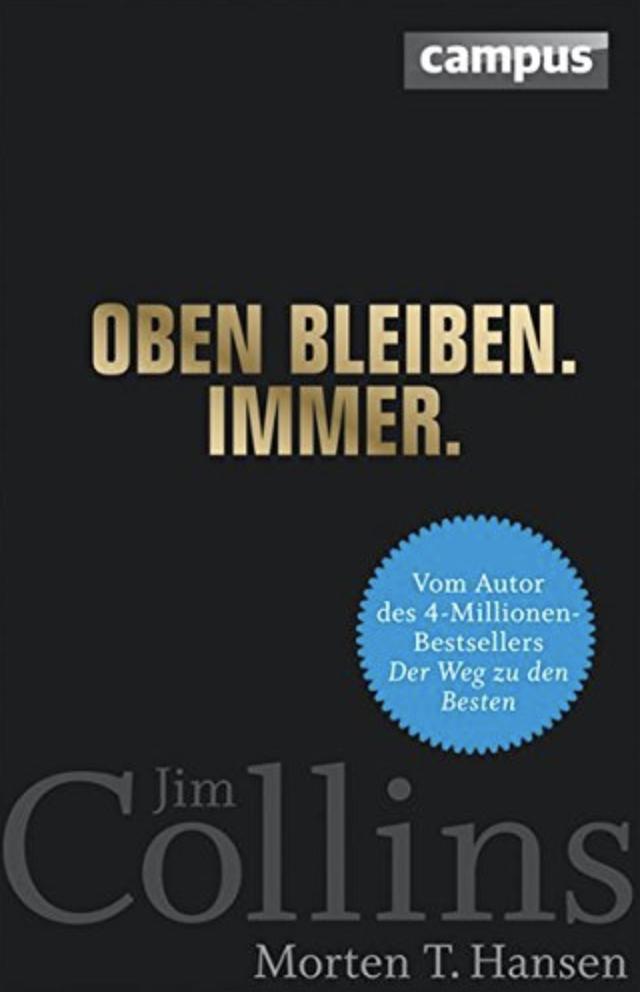 Oben bleiben. Immer. (Copyright: Campus Verlag)