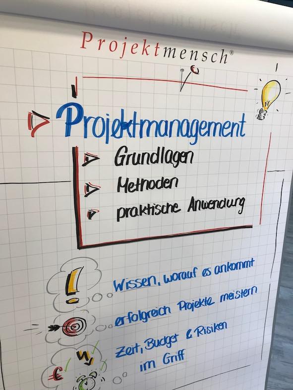 Training | Mit Leichtigkeit ins Projekt - Grundlagen Projektmanagement, Methoden, praktische Anwendung